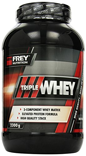 Frey Nutrition Triple Whey Neutral Dose, 1er Pack (1 x 2.3 kg)