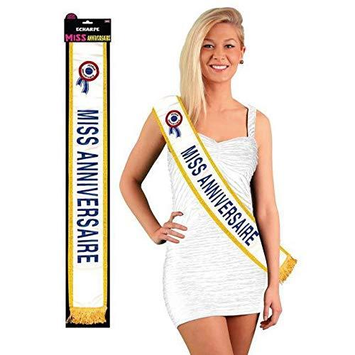 Generique - Echarpe Miss Anniversaire