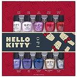 OPI Nl Hello Kitty Holiday Minis - 10 Piece Kit, 37.5 ml, Pack de 1
