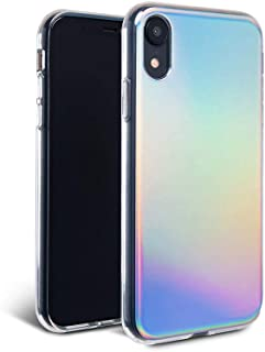 iPhone XR Case - FELONY CASE - Aura Holographic - 360° Shock-Absorbing Protective Stylish Holographic Case for iPhone XR (Aura Holographic CASE)