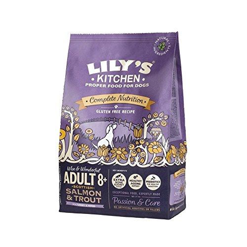Lily's Kitchen Adulto 8+ Salmone scozzese e il cibo secco...