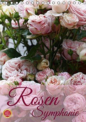 Rosen Symphonie (Tischkalender 2016 DIN A5 hoch): Erleben Sie eine wundervolle Rosen Symphonie (Monatskalender, 14 Seiten) (CALVENDO Natur)
