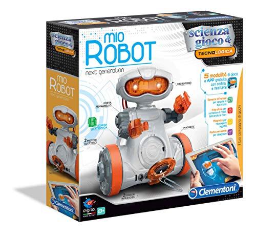 Clementoni-19112-Scienza e Gioco Mio Robot, Robot per Bambini, Multicolore, 19112