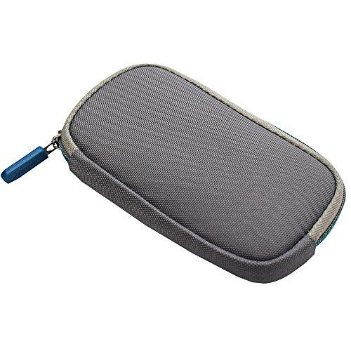 Zipper Headphone Carrying Case Storage Bag Pouch Compatible Bose QC20 QC 20 QC20i QC 20i QuietComfort 20 Headphones (Grey)