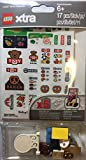 LEGO Signs and Decals Accessories (Xtra) 17 Total Pieces with 5 Decal Sheets