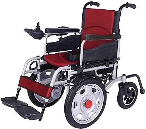 Cuscino elettrico per sedie a sedia a rotelle Sistema di controllo intelligente Sistema di controllo intelligente Arrampicata per le sedie a rotelle anziane e disabili,Rosso