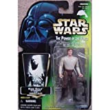 Star Wars Power of the Force Han Solo in Carbonite with Carbonite Freezing Chamber Green Card Action Figure