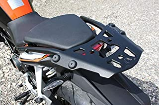 Black motorcycle luggage rack rear shelf Metal For Duke 690 2012-2018 2013 2014 2015 2016 2017