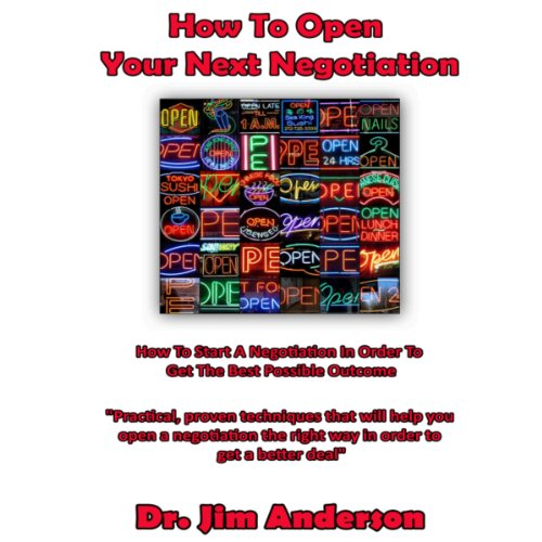 How to Open Your Next Negotiation cover art