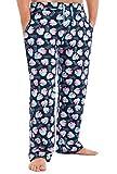Peppa Pig Hose Herren, Schlafanzughose Lang, Pyjama Herren mit Peppa Wutz, 100% Baumwolle Freizeithose Herren Jungen Teenager, Lustige Geschenke für Männer (M)