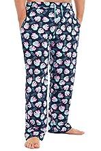Peppa Pig Pantalon Pijama Hombre, Ropa para Hombre 100% Algodon Suave, Pantalones Largos Hombre de Pijama, Regalos para Hombre y Chico Adolescente Talla S - 3XL (L)