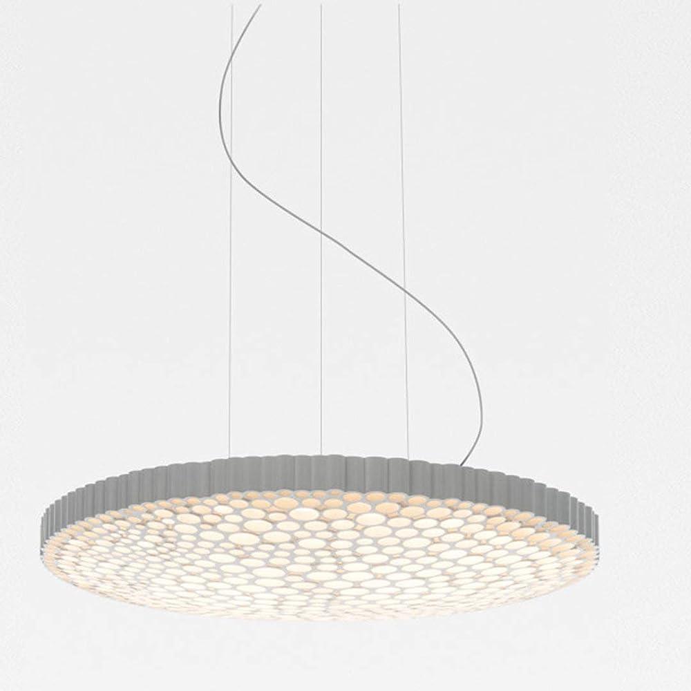 Artemide calipso,lampada a sospensione led in tecnopolimero di colore bianco 0213010A