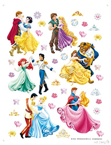 Wand Sticker DK 1774 Disney Princess Prinzessin