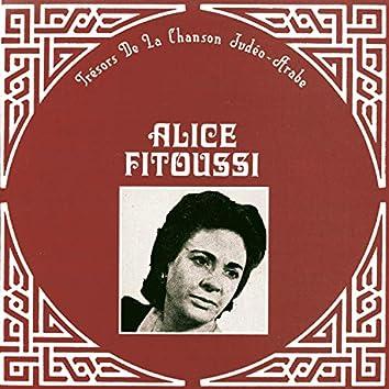 Trésors de la chanson Judéo-Arabe, Alice Fitoussi