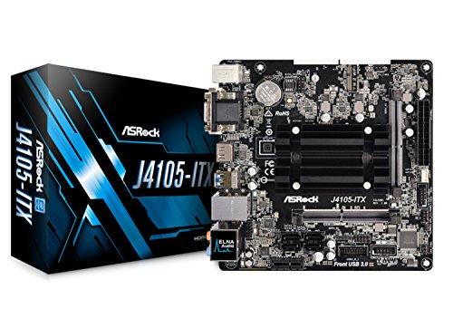 ASRock 90-MXB6N0-A0UAYZ Mainboard J4105-ITX Intel J4105 CPU m-ITX DVI/HDMI DDR4