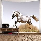 Tapiz de caballo tapiz de colores tapices de pared con tapiz de...