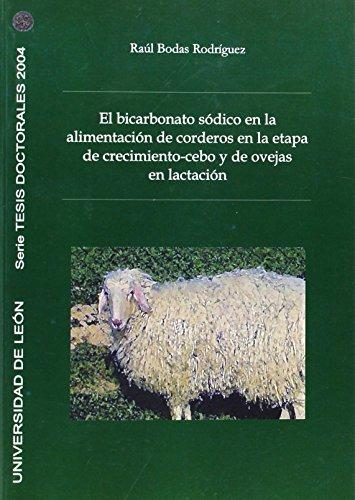 El bicarbonato sódico en la alimentación de corderos en la etapa de crecimiento