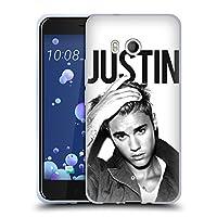 オフィシャル Justin Bieber Calendar ブラック&ホワイト Purpose HTC U11 / Dual 専用ソフトジェルケース