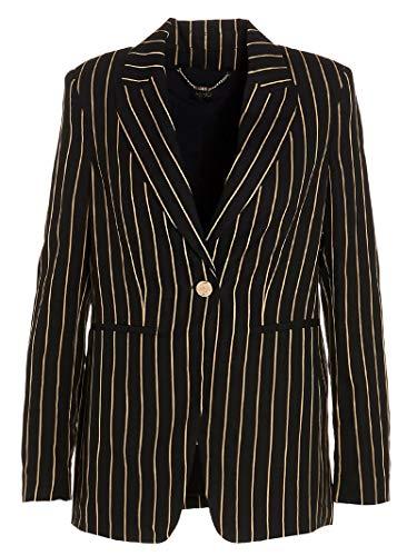 Liu Jo Luxury Fashion Damen CA0051T2388U9850 Schwarz Viskose Blazer | Frühling Sommer 20