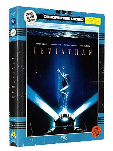 """Leviathan - Mediabook - Limitiert auf 245 Stück (mit Bonus-Film """"X-Tro"""" - beide Filme auf DVD + Blu-ray) - VHS-Edition"""