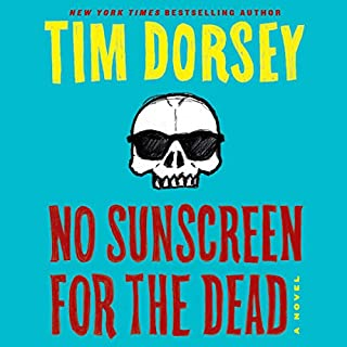 No Sunscreen for the Dead audiobook cover art
