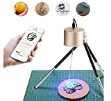 Compact Laser Engraver Machine, LaserPecker Mini Desktop Laser Engraving Portable Laser Etcher Laser Cutter Printer with Safety Glasses for DIY Logo Design, Art Craft Science Gold
