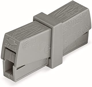 WAGO 224-201 PUSHWIRE Inline Connectors (Box of 50)