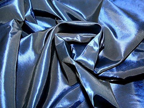 Minerva Crafts Taftstoff, Marineblau, Meterware