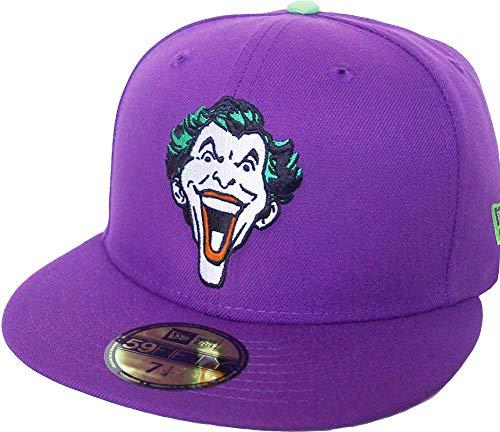 New Era Joker 59fifty 5950 DC Comics - Gorra, color morado y verde multicolor 55