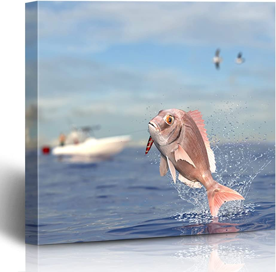 Onete Wall Art for Living Room Outlet ☆ Free Shipping Snapper P Charlotte Mall Offshore Yacht Red Tuna