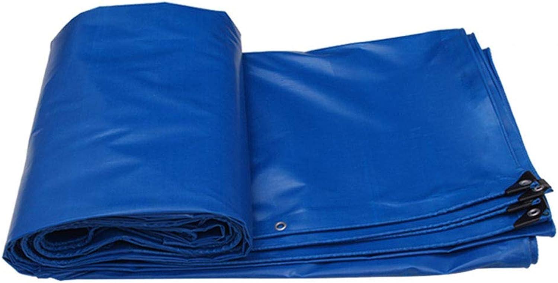 YX-Planen Starke Wasserdichte Plane aus PVC, vielseitig einsetzbar, reversibel, geschützte geschützte geschützte Sonnenschutzplane, Blaue Zeltplane - Dicke 0,5 mm, 520 g m² - 100% wasserdicht und UV-geschützt B07KG25F3H  Kunde zuerst 56c1c3