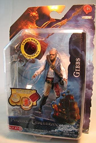 más orden Pirates of Caribbean OSS 4 inch Gibbs by Jakks Jakks Jakks  mejor oferta