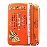 Makari Extreme Karotte & Arganöl Seife 7oz. - Anti-Aging Seife Peeling & Lightens Haut mit...