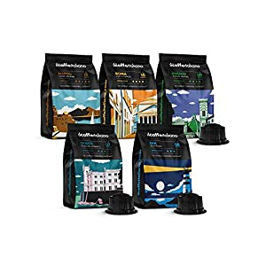 FRHOME - 100 Cápsulas de Café compatibles Caffitaly - kit degustación de 50 cápsulas café compatibles con máquinas Caffitaly - Il Caffè Italiano