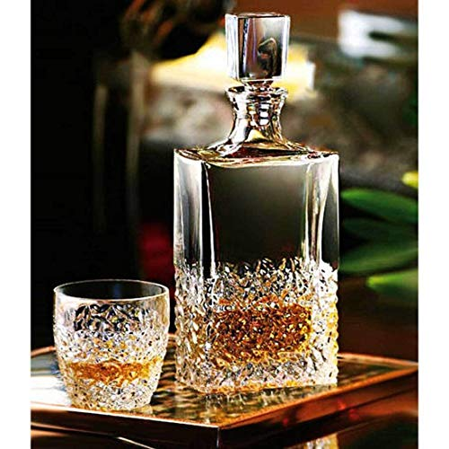 Bohemia Whisky de Juego de regalo Nicolette Cristal Jarra + 2vasos