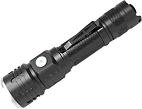 SC07 LH351D 1200LM Strong Brightness Tactical Flashlight 18650 USB-C Rechargeable Dual Switch LED Torch