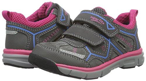 Superfit LUMIS 700411, Mädchen Sneakers, Grau, 32 EU - 4