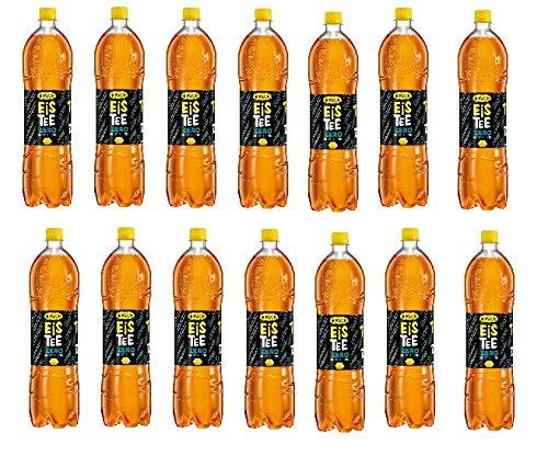 12 Flaschen Rauch Eistee Zitrone Zero ohne Zucker a 1500ml inc. 3.00€ EINWEG Pfand (18 Liter)