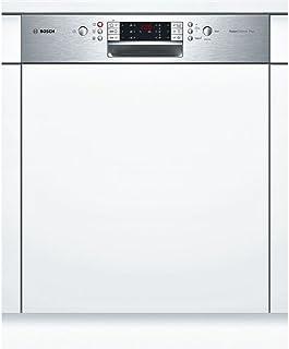 Bosch SMI69P45EU lavavajilla Semi-incorporado 14 cubiertos A++ - Lavavajillas (Semi-incorporado, Tamaño completo (60 cm), Acero inoxidable, Botones, 1,75 m, 1,65 m)