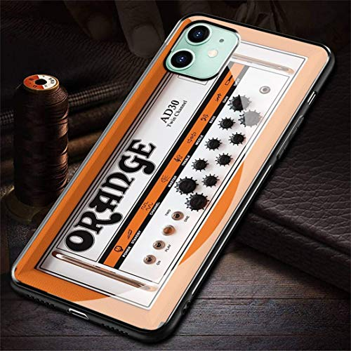 HZZAWDHL Funda iPhone 6 Case/Funda iPhone 6S Case Tempered Glass Phone Case Oran GE R-128