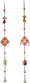 Puppet Doll String Door Hanging Set of 2 for Home Door, Wall, Temple, Bedroom, Decorative Accessories for Party, Indian We...