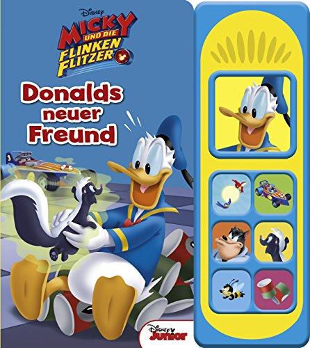 Micky und die flinken Flitzer: Donalds neuer Freund (Soundbuch)