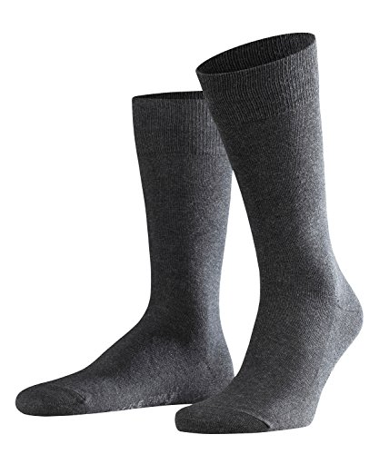 FALKE Herren Socken Family, 94prozent Baumwolle, 1 Paar,anthracite melange