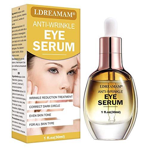 Eye Treatment Serum,Anti Ageing Eye Serum,Eye Firming Serum,Anti Wrinkle Eye Serum,Reduce Dark Circles,Wrinkles,Under Eye Bags and Puffiness