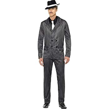 Adultos Hombre 1920s años Gangster Gangsta Bugsy Malone Great ...