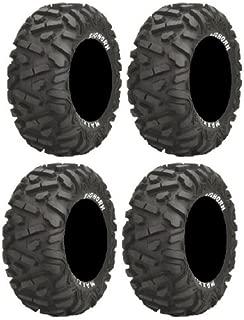 Full set of Maxxis BigHorn Radial 30x10-14 ATV Tires (4)