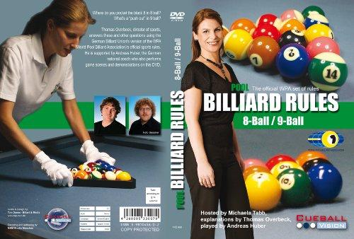 Pool Billiard Rules 8 Ball / 9 Ball DVD