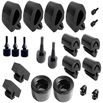Metro Moulded Parts SBK 210 16-Piece Snap-In Bumper Kit