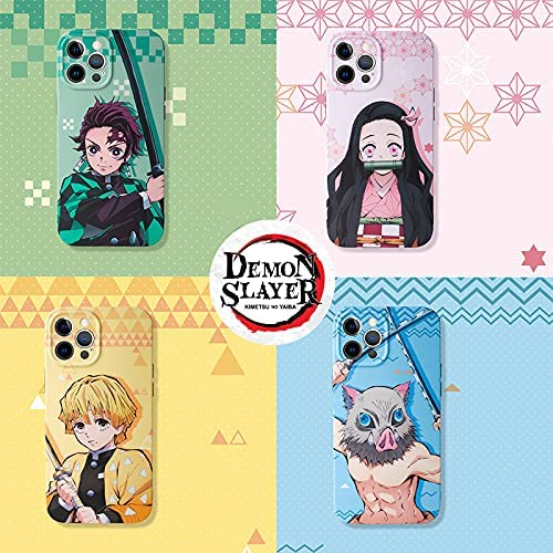 Demon Slayer Phone Case for iPhone 12 Pro Max,Inosuke Phone Case iPhone 12 Pro Max,Comes with a Keychain(Inosuke,iPhone 12 Pro Max)