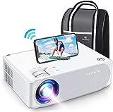 Videoprojecteur WiFi, VANKYO Projecteur 5G WiFi Synchronisation 1920x1080P Full HD Retroprojecteur Compatible HDMI VGA AV USB pour Présentation PPT Home Cinéma
